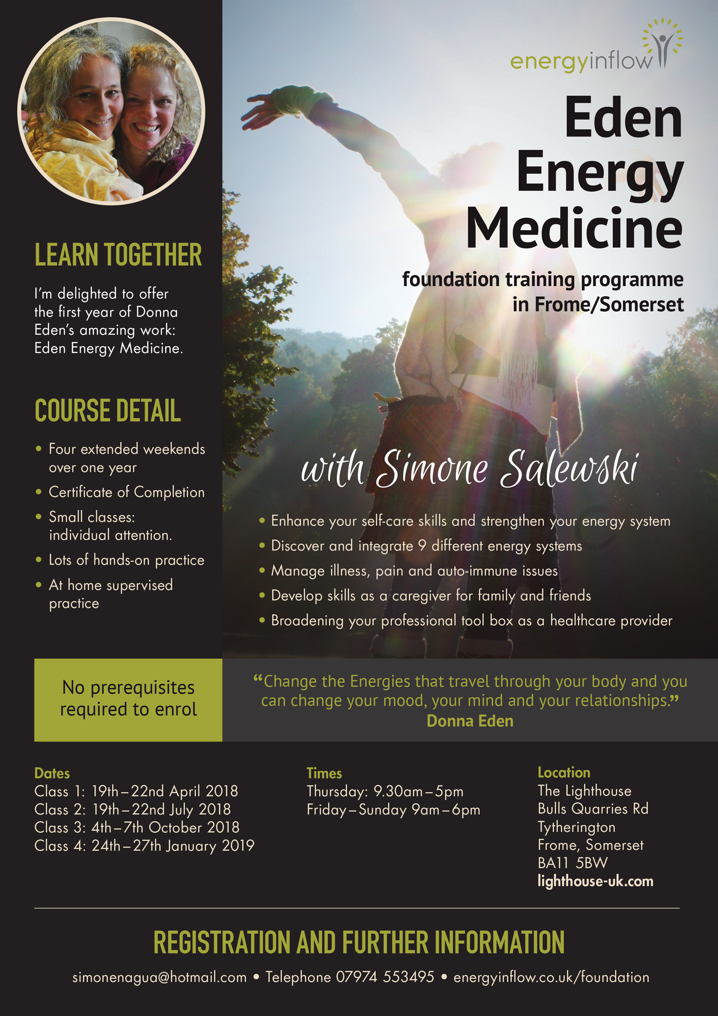 Eden Energy Medicine - Foundation Training Programme
